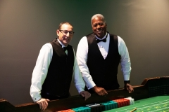 Mike & Willie team up to deal craps