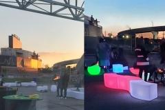 Subaru Park aka Philadelphia Union Stadium for L-Rae's Party In A Can Mobile Bar Cart
